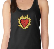 clothes over bros heart logo Women's Tank Top