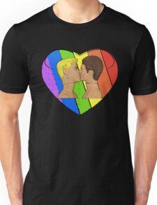 Love & Pride Gay Kiss...FABULOUS! Unisex T-Shirt