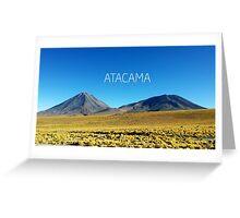 Atacama Desert - Chile Greeting Card