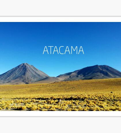 Atacama Desert - Chile Sticker