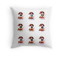 Guild Wars 2 - Classes Throw Pillow
