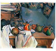 1893 - Paul Cezanne - Ginger Pot with Pomegranate and Pears Poster