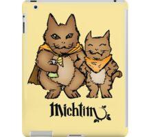Michtim: Hamster-Like Heroes Hoodie iPad Case/Skin