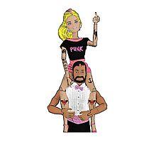 Punk Barbie! Photographic Print