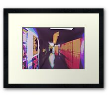 Empty Corridors And Other Noise Framed Print