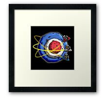 A Space Modyssey: May The Faith Be With You Framed Print
