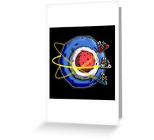 A Space Modyssey: May The Faith Be With You Greeting Card