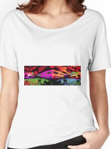 PunkScape  Women's Relaxed Fit T-Shirt