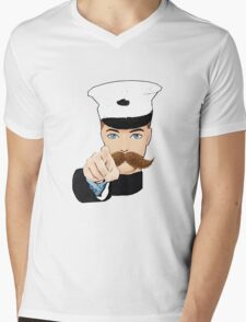 This Design Needs You! Mens V-Neck T-Shirt