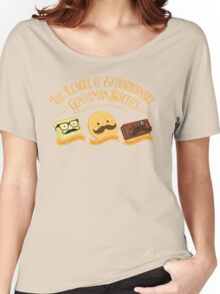 The League of Extraordinary Gentleman Biscuits Women's Relaxed Fit T-Shirt