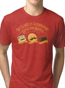 The League of Extraordinary Gentleman Biscuits Tri-blend T-Shirt