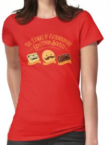 The League of Extraordinary Gentleman Biscuits Womens Fitted T-Shirt