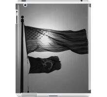 Grey Flags iPad Case/Skin