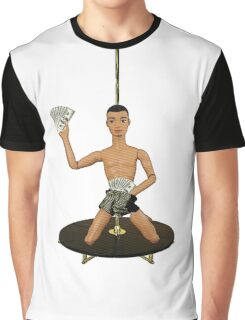 Pole Dancing Chippendale! Graphic T-Shirt