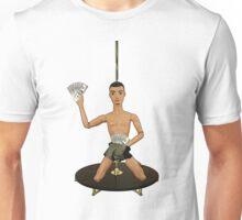 Pole Dancing Chippendale! Unisex T-Shirt