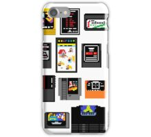 Vintage Game Carts iPhone Case/Skin