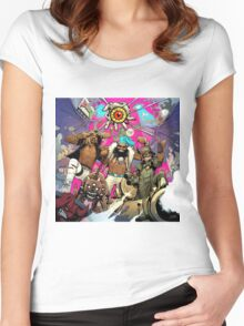 flatbush zombies 2016 Women's Fitted Scoop T-Shirt