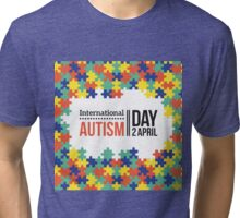 International Autism day Tri-blend T-Shirt