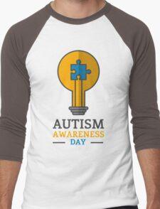Autism awareness day Men's Baseball ¾ T-Shirt