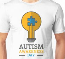 Autism awareness day Unisex T-Shirt
