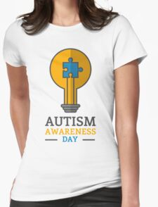 Autism awareness day Womens Fitted T-Shirt