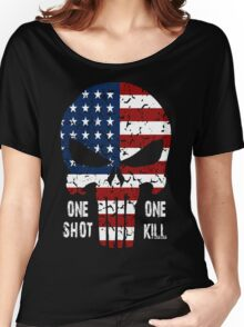 One Shot One Kill Women's Relaxed Fit T-Shirt