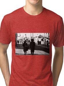 Navy Pier Tri-blend T-Shirt