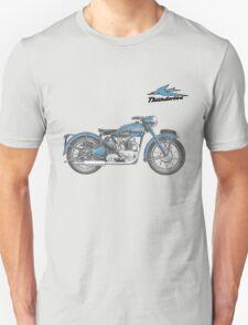 TRIUMPH THUNDERBIRD 1950 VINTAGE ART T-Shirt