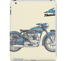 TRIUMPH THUNDERBIRD 1950 VINTAGE ART iPad Case/Skin