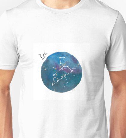 leo galaxy Unisex T-Shirt