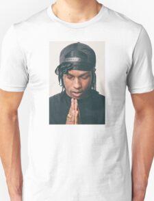 asap rocky praying Unisex T-Shirt