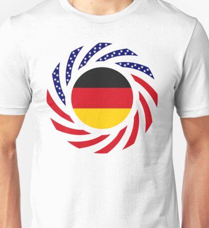German American Multinational Patriot Flag Series Unisex T-Shirt