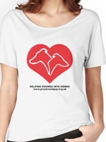 Hounds on Heart Women's Relaxed Fit T-Shirt