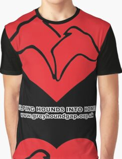 Hounds on Heart Graphic T-Shirt