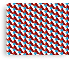 Trendy geometry pattern Canvas Print