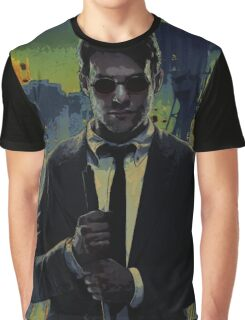 Charlie Cox - devil Graphic T-Shirt