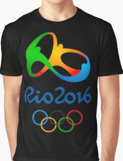 Rio 2016 Olympics Graphic T-Shirt