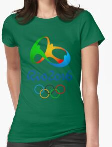 Rio 2016 Olympics Womens Fitted T-Shirt