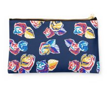 Bright Flowers Pattern Studio Pouch
