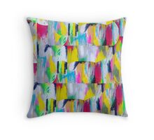 colour storm Throw Pillow
