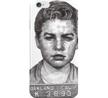 'Little Jimmy' Notorious leader of The Gumball Gang iPhone Case/Skin