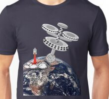 Space Station Around the Earth T-shirt Unisex T-Shirt