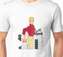 Fun At The Photocopier - Copying Your Bum! Unisex T-Shirt