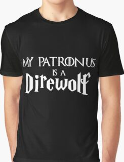 My Patronus is a Direwolf Graphic T-Shirt