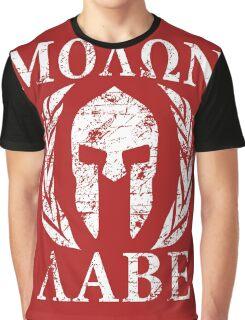 molon labe 1 Graphic T-Shirt