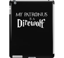 My Patronus is a Direwolf iPad Case/Skin