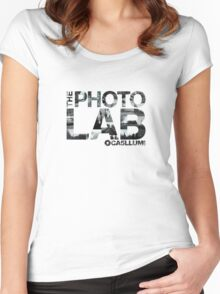 Photo Lab Collage Logo Women's Fitted Scoop T-Shirt
