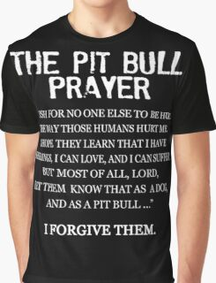The Pit Bull Prayer Graphic T-Shirt