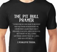 The Pit Bull Prayer Unisex T-Shirt