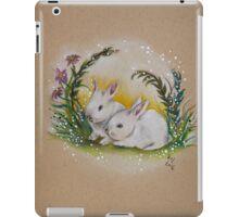 Ostara Spring Bunnies iPad Case/Skin